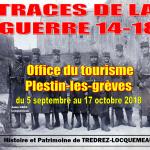 Traces de la guerre 14-18 Plestin-les-Grèves