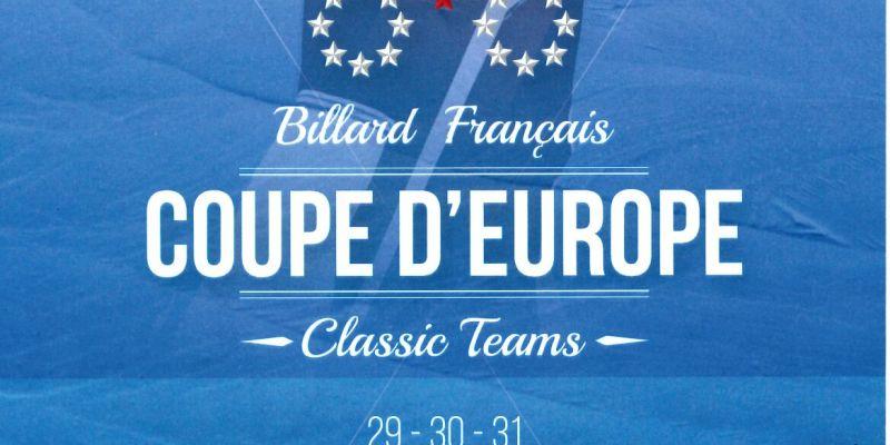 Sport - Billard, finale de la coupe dEurope Classic