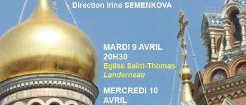 Concert du chœur Studium de Saint Pétersbourg Landerneau