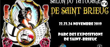 Salon du tatouage - 4ème édition - Hermione Palais des Congrès Saint-Brieuc