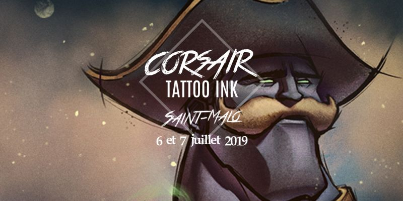 Corsair Tattoo Ink