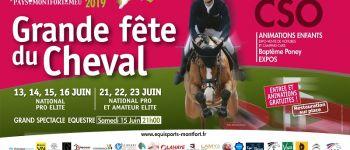Spectacle et concours des équisports de Montfort Montfort-sur-Meu