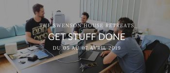Get stuff done - The Swenson House Retreats Audierne