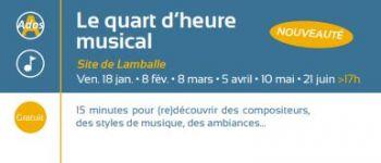 Le quart d\heure musical Lamballe