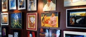 Exposition Nadine Le Boulc\h et l\atelier de Mana Fouesnant