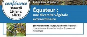 Conférence \Équateur : une diversité végétale extraordinaire\ Brest
