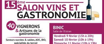 Salon Vins et Gastronomie Binic-Étables-sur-Mer