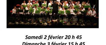 Concert d\hiver de l\Orchestre d\Harmonie du Pays de Guingamp Guingamp