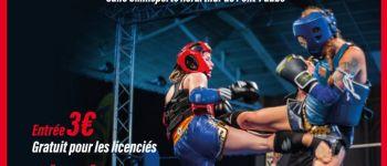 Boxe- Compétition de Muay Thai Pont-LAbbé