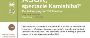 ASUR, spectacle Kamishibaï Lamballe-Armor