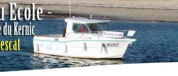 Stage de cours théoriques et pratiques du permis mer côtier Plouescat