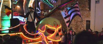 Carnaval des Gais Lurons, le défilé de nuit Vitré