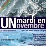 Théâtre : \Un mardi en novembre\ Douarnenez