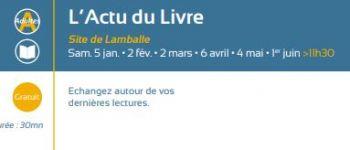 L\Actu du Livre Lamballe