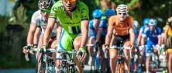 Course cycliste et cinéma en plein air Laurenan