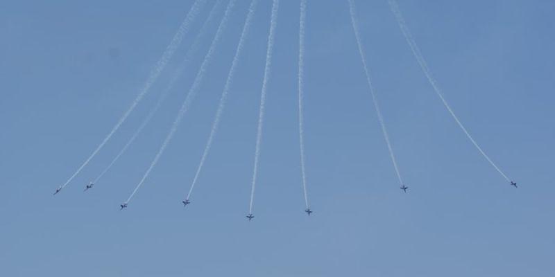 Spectacle aérien de la Patrouille de France