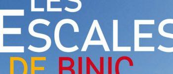 Festival de littératures vagabondes des Escales de Binic Binic-Étables-sur-Mer