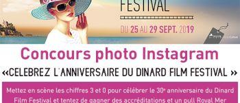 Remise des Prix du Concours Photos Instagram du Dinard Film Festival Dinard