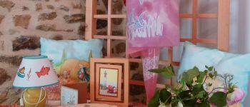 Exposition : Encadrement, cartonnage, broderie suisse et peinture sur soie Plougasnou