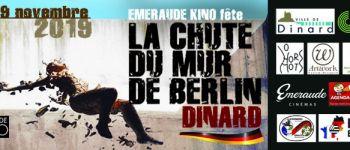 Émeraude Kino fête la chute du mur de Berlin Dinard