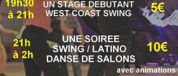 Soirée Swing, Latino et danses de salon Saint-Méloir-des-Ondes
