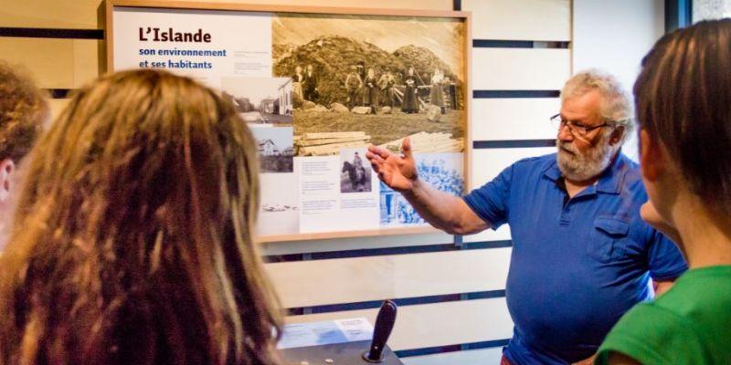Visite guidée du musée Mémoire dIslande