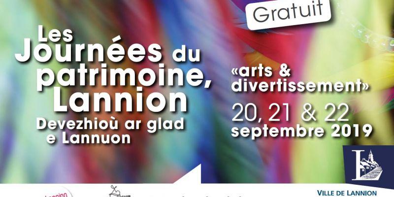 Visite du centre-ville de Lannion - Journées du patrimoine