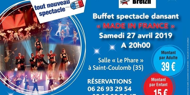 Spectacle Made in France - ANNULE -
