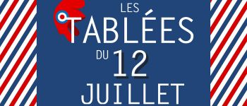 Feu d\artifice et Tablées du 12 juillet Montfort-sur-Meu