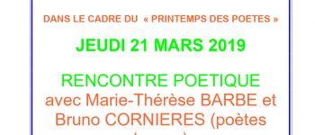 Rencontre poetique Jugon-les-Lacs - Commune nouvelle