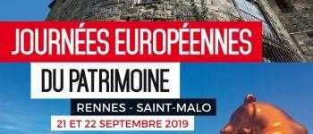 Journées Européennes du Patrimoine - Saint-Malo Baie du Mont Saint-Michel Saint-Malo