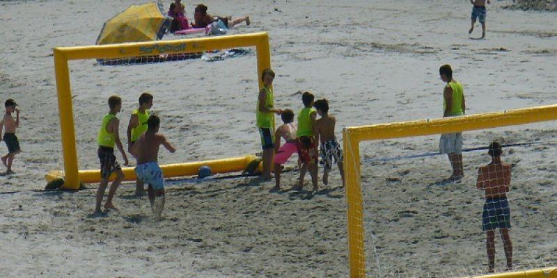 Foot de plage !
