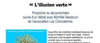 Cinéma La Cane - Soirée spéciale \L\illusion verte\ Montfort-sur-Meu