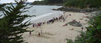 Traversée de la Baie à la nage Plestin-les-Grèves