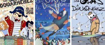 Les Gras de Douarnenez - Incinération du Den\Paolig & Feu d\artifice Douarnenez