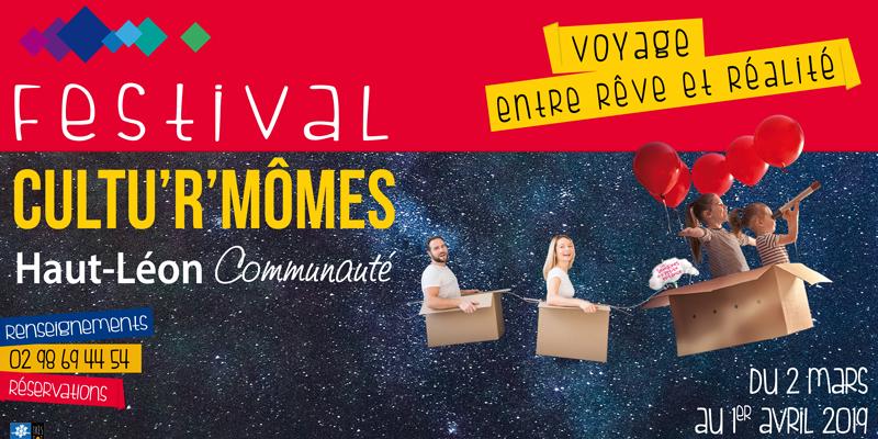 Festival CultuR'Mômes - Le songe du conteur ou le voyageur de l'impossible