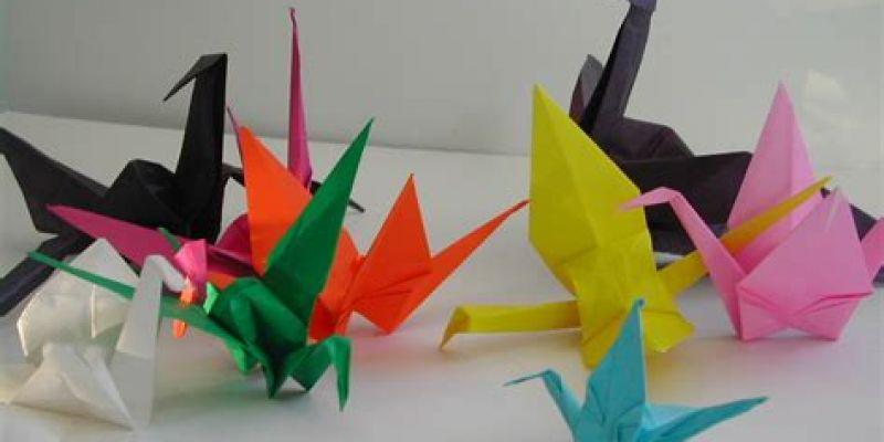 Atelier origami à la librairie Mots et Images
