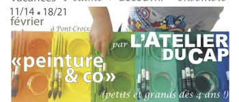 Stage de Vacances :(Re)découverte de l\Expression Libre (peinture, terre&co) Pont-Croix