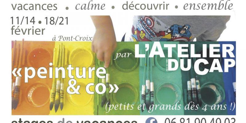 Stage de Vacances :(Re)découverte de lExpression Libre (peinture, terre&co)