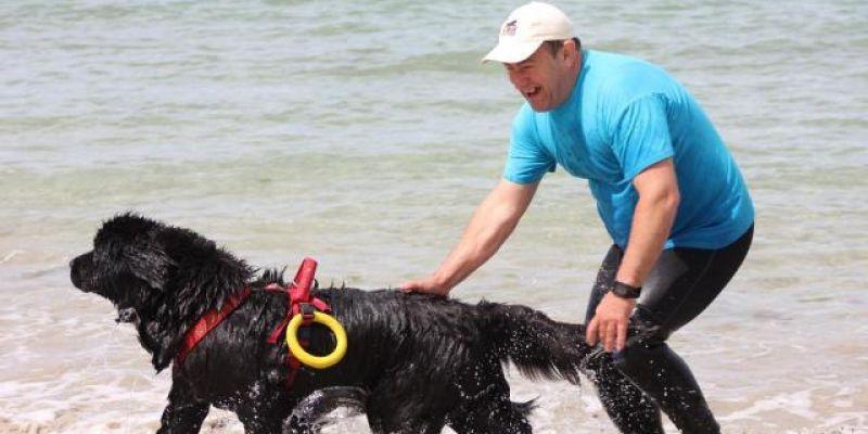Concours régional de chiens sauveteurs en mer