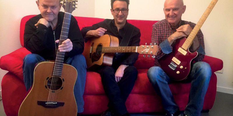 Dan Ar Braz trio guitares - Concert