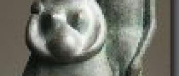 Stage sculpture -Patines sur terre cuite - Brigitte Maignan Cricks Lamballe-Armor