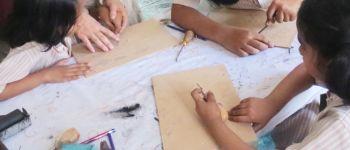 Atelier gravure pour enfants Lannilis