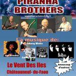 Concert  :  The Piranha brothers Châteauneuf-du-Faou