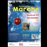 Animation marché Montauban-de-Bretagne