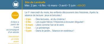 Mercredi des histoires Lamballe-Armor