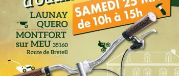 Grande vente de vélos et outils d\occasion Montfort-sur-Meu