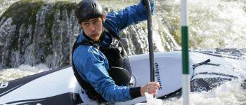 Championnat nationnal de slalom en canoë-kayak Ploufragan