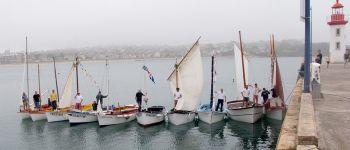 Rassemblement de canots traditionnels Albatros et Petit Lejon Erquy