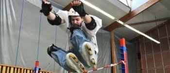 Compétition de roller skatecross Roscoff